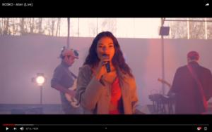 kosko-alien-live-video-breve-litzic
