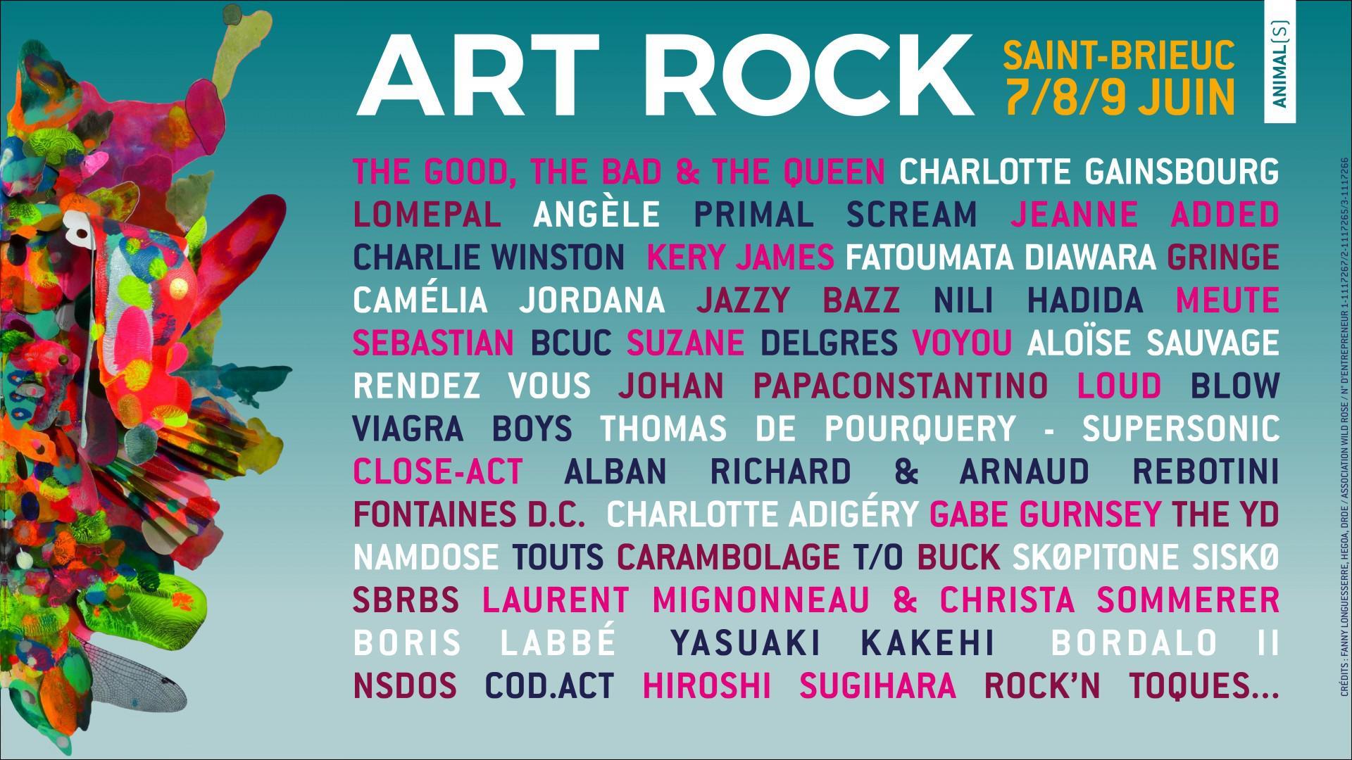 art-rock-2019-programmation