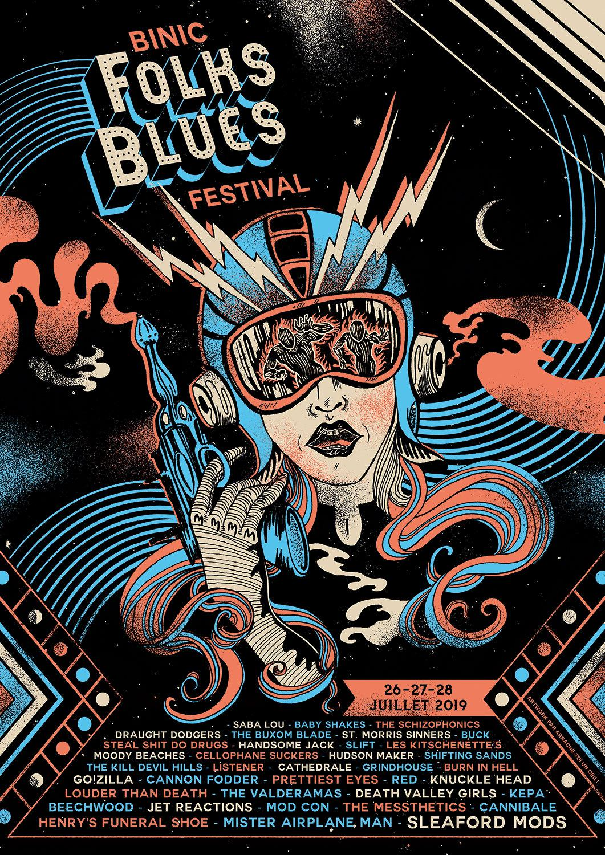 folk blues festival programmation
