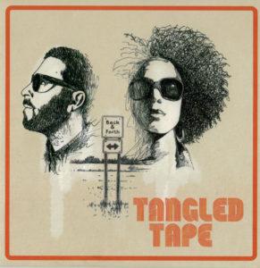 tangled tape back & forth