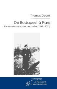 Thomas Degré De Budapest à Paris