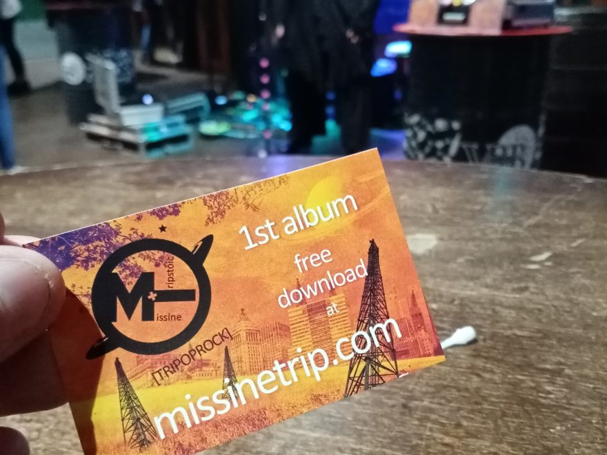 Missine+tripstoïc live V&B