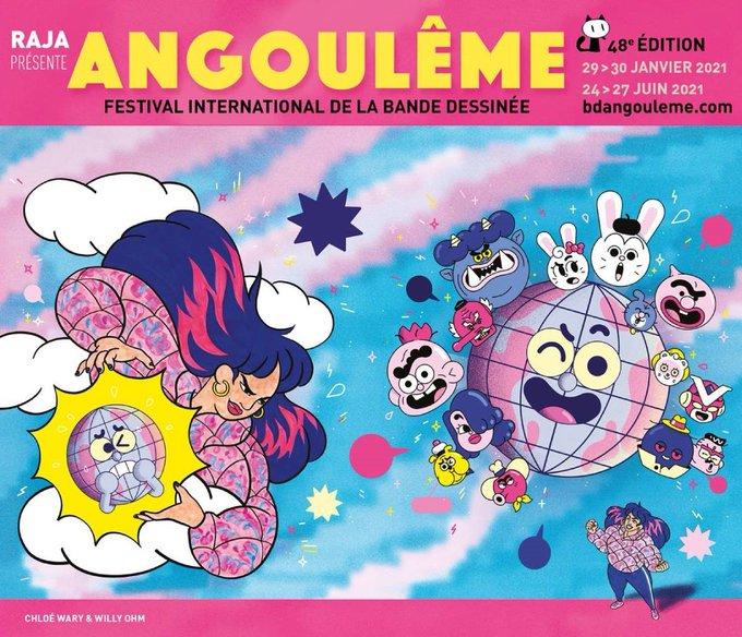 affiche 48é festival de la bd angoulême
