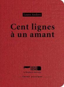 100 lignes à un amant Laure anders