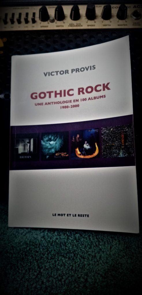 gothic rock Victor provis